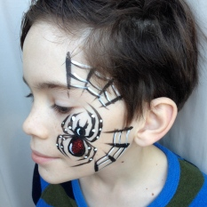 Spider side face